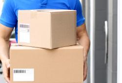 商品の郵送